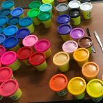 Playdough containers